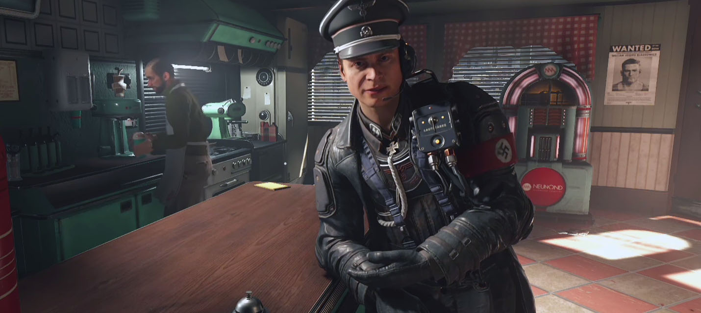 Изображение к Геймплейный трейлер Wolfenstein II: The New Colossus с печальным финалом