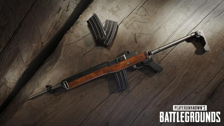 PlayerUnknown's Battlegrounds - На следующей неделе в PUBG появится Ruger Mini-14 - screenshot 1