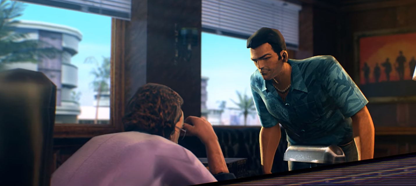 Изображение к Так бы мог выглядеть трейлер ремастера Grand Theft Auto: Vice City
