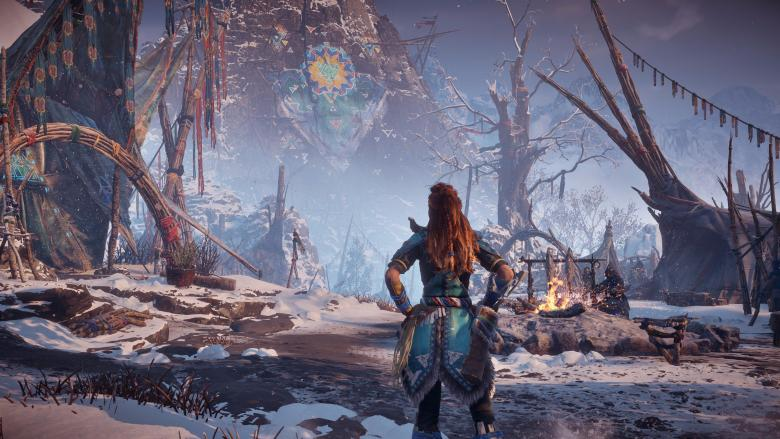Guerrilla Games - Четыре новых скриншота Horizon Zero Dawn: The Frozen Wilds - screenshot 4