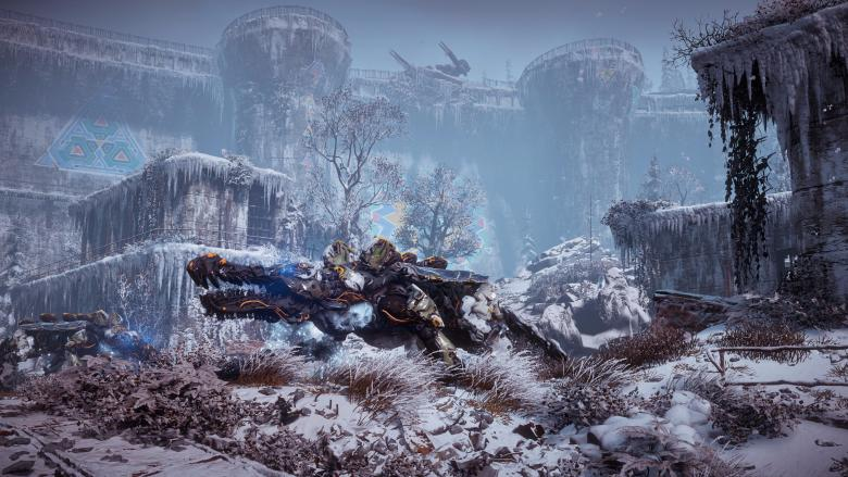 Guerrilla Games - Четыре новых скриншота Horizon Zero Dawn: The Frozen Wilds - screenshot 2
