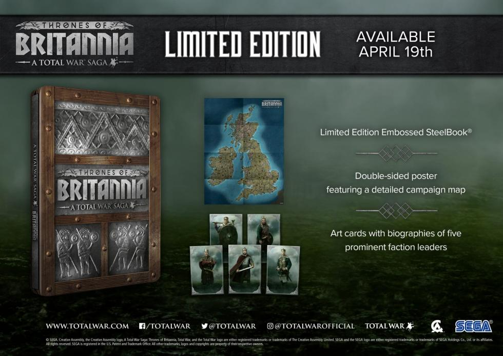 Creative Assembly - Релиз Total War: Thrones of Britannia состоится в Апреле - screenshot 1