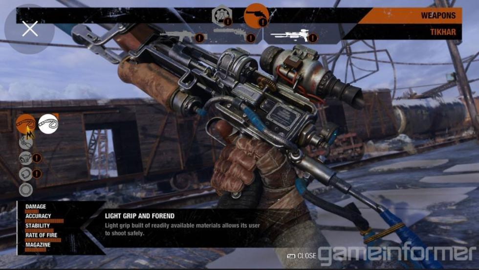 MetroExodus - Настройка оружия и передвижная база на скриншотах Metro Exodus из последнего выпуска Game Informer - screenshot 8