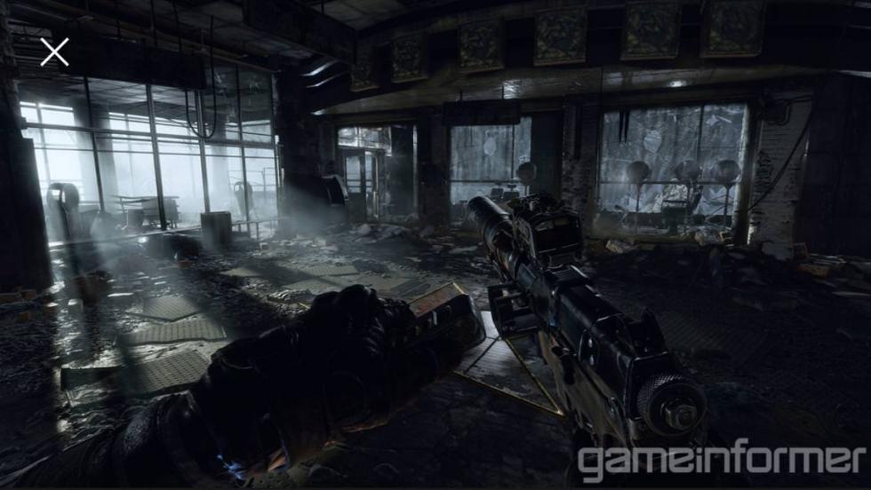 MetroExodus - Настройка оружия и передвижная база на скриншотах Metro Exodus из последнего выпуска Game Informer - screenshot 3
