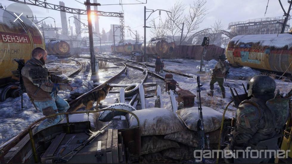 MetroExodus - Настройка оружия и передвижная база на скриншотах Metro Exodus из последнего выпуска Game Informer - screenshot 10