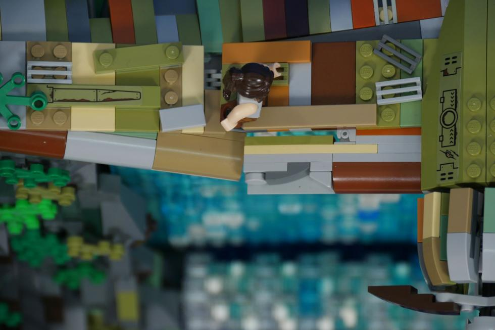 Lego - Фанат создал диораму Tomb Raider с помощью Lego - screenshot 3