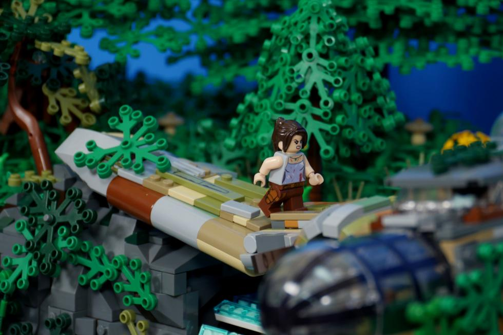 Lego - Фанат создал диораму Tomb Raider с помощью Lego - screenshot 6