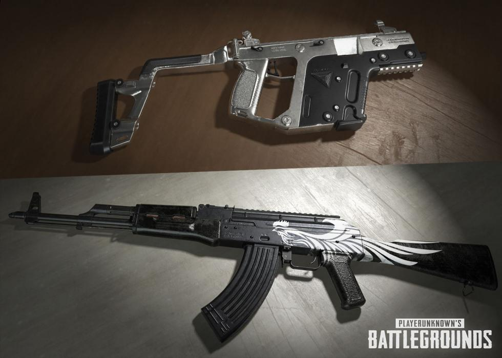 PlayerUnknown's Battlegrounds - В PlayerUnknown's Battlegrounds появились скины для оружуя - screenshot 2