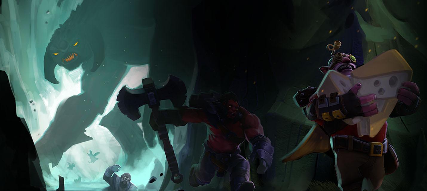 Королевская битва в Dota 2