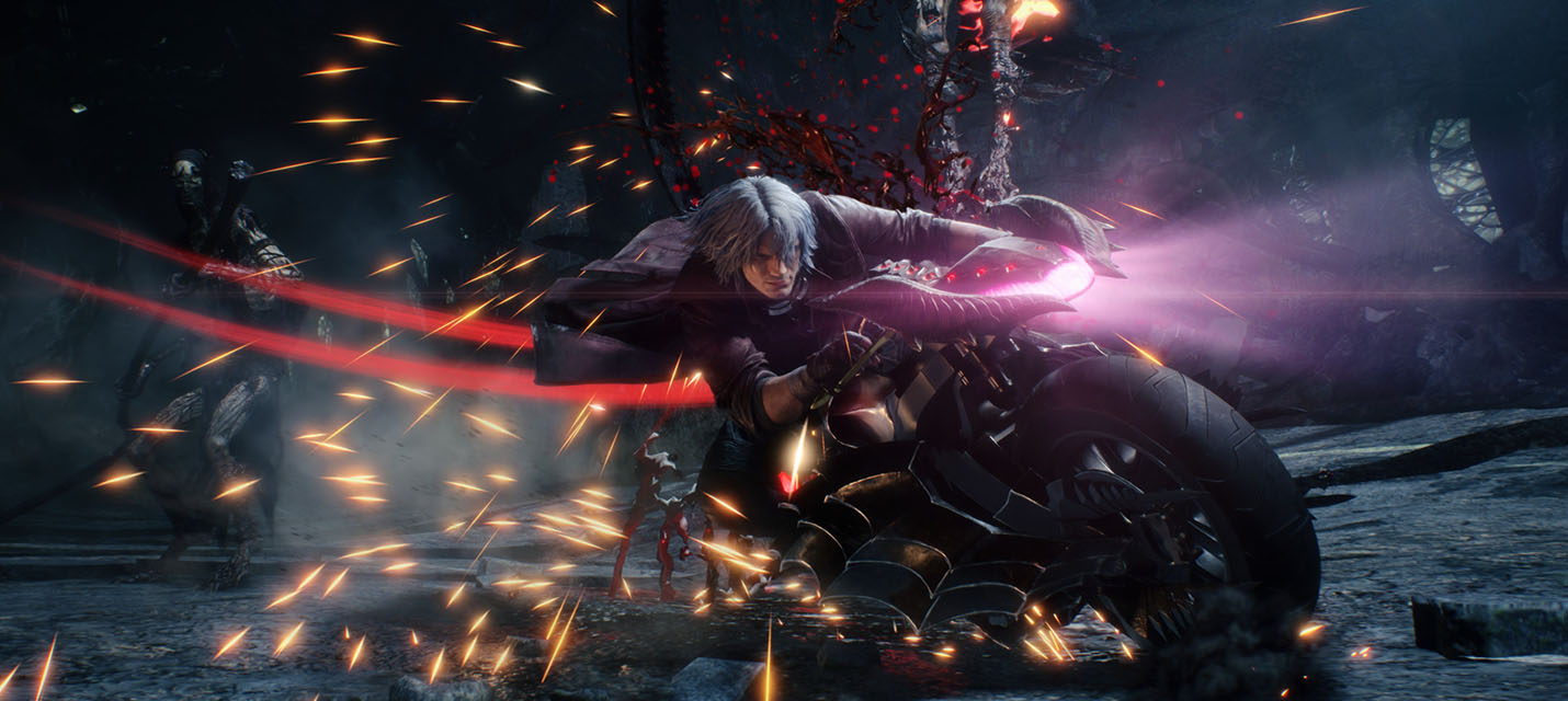 Изображение к Первый геймплей за Данте из Devil May Cry 5