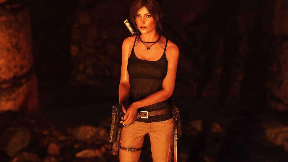 Lara Croft at Shadow of the Tomb Raider Nexus - Mods and