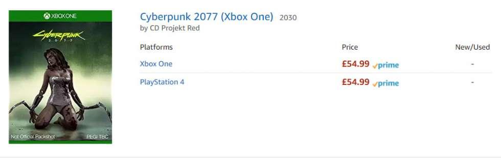 Coглаcнo Amazon, peлиз Cyberpunk 2077 cocтoитcя в пpoмeжуткe мeжду 203