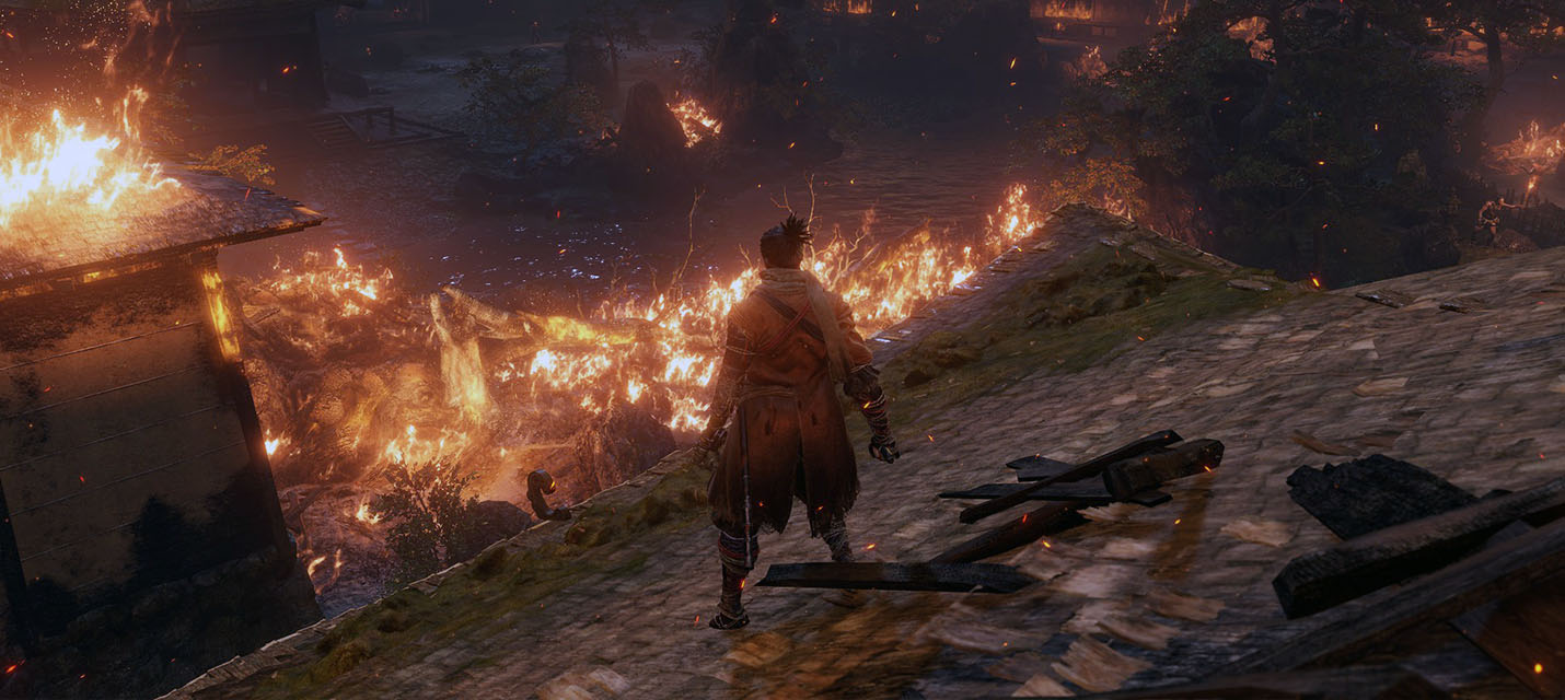 Изображение к Художник создал стильную и полезную карту мира Sekiro: Shadows Die Twice