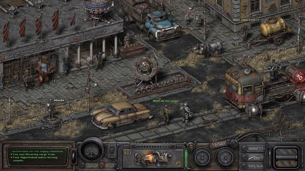 �ак б� мог в�гл�де�� нов�й изоме��и�е�кий Fallout