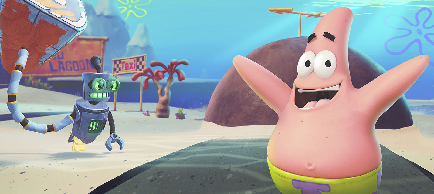12 минут геймплея SpongeBob SquarePants: Battle for Bikini Bottom ...