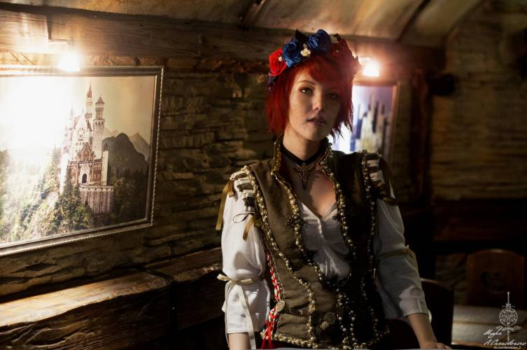 Cosplay Шани образца The Witcher 3: Wild Hunt