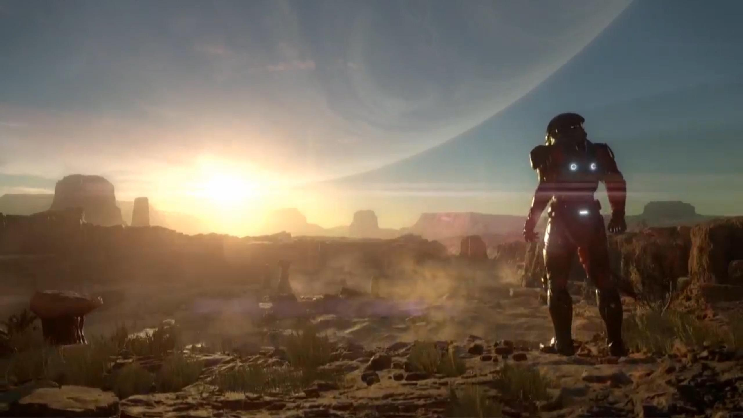 Изображение к Утечка первого геймплея Mass Effect: Andromeda
