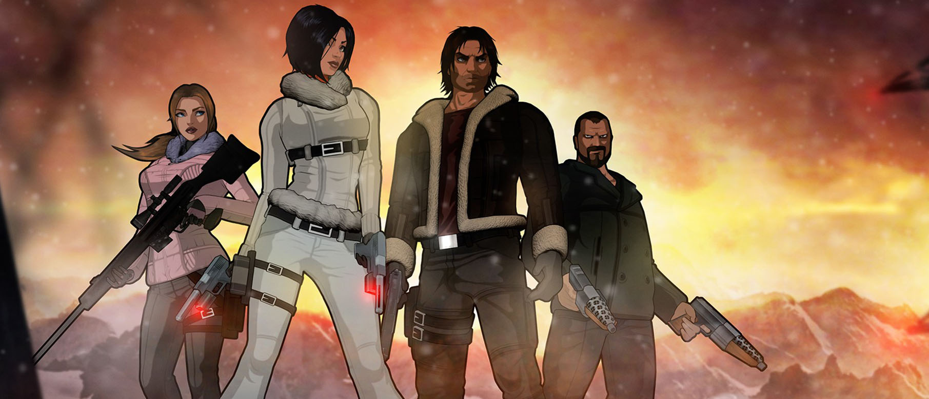 Первый геймплей Fear Effect Sedna из альфа-версии