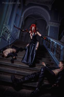 Cosplay - Косплей Рейн из BloodRayne 2 - screenshot 2
