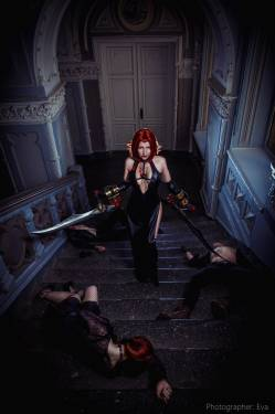 Cosplay - Косплей Рейн из BloodRayne 2 - screenshot 5