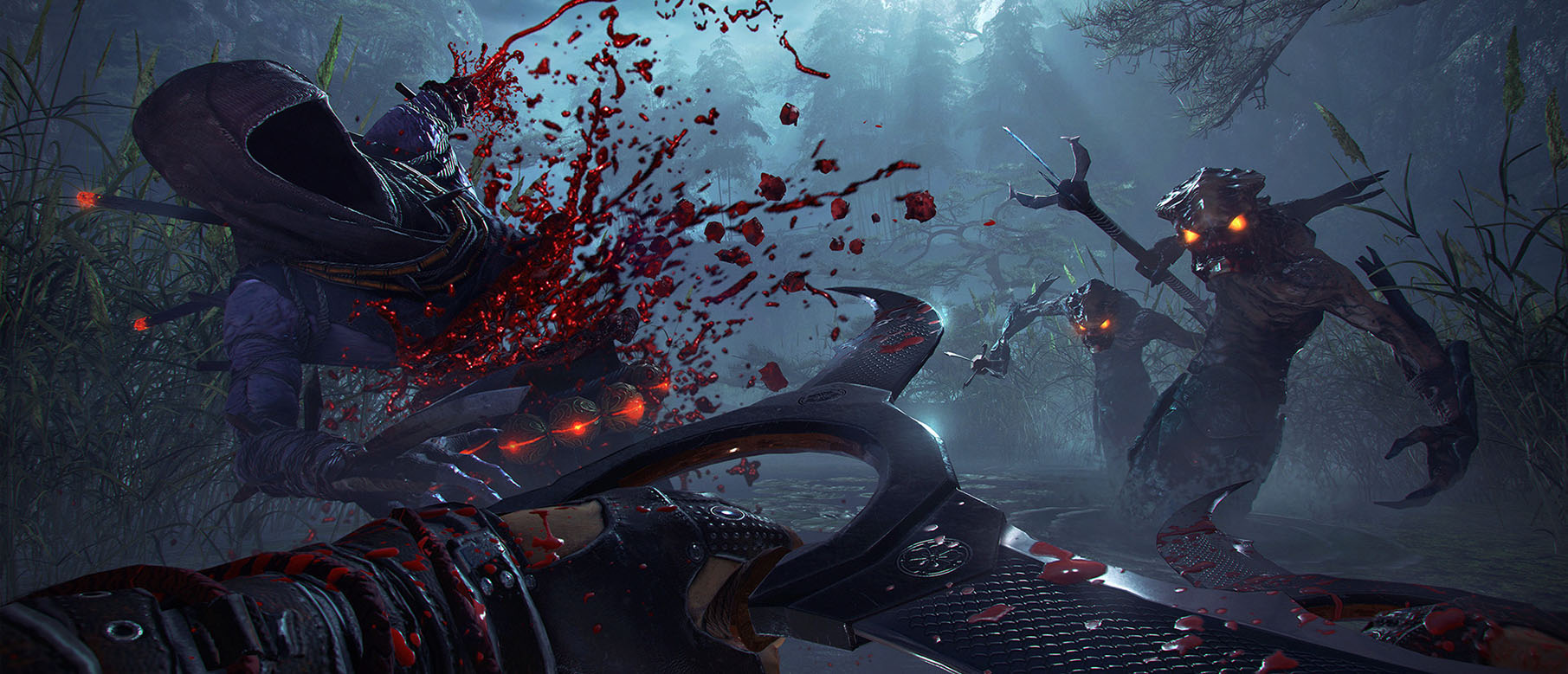 Изображение к Новый геймплей Shadow Warrior 2 из PC-версии