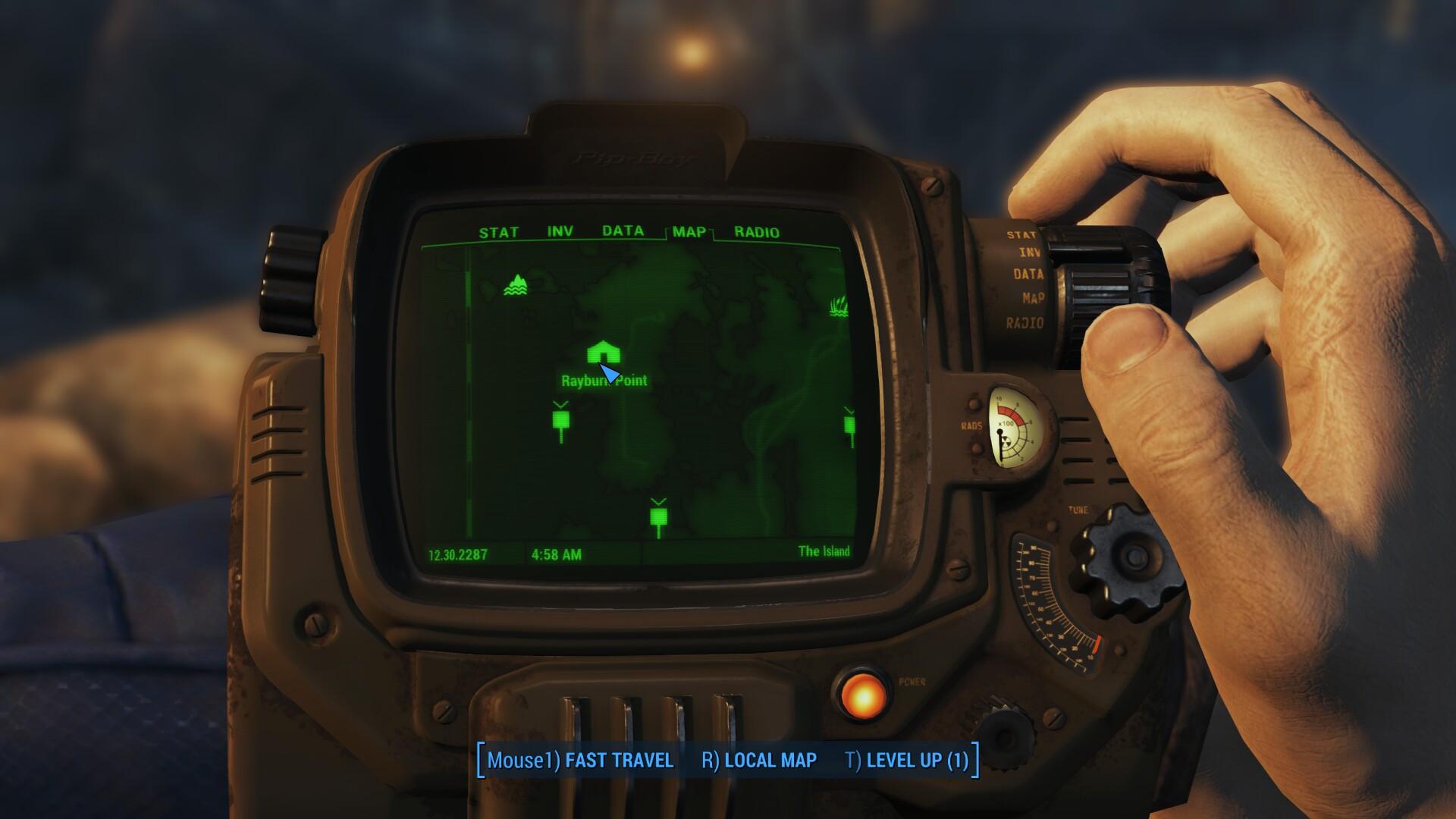 Fallout 4 рейберн пойнт где найти