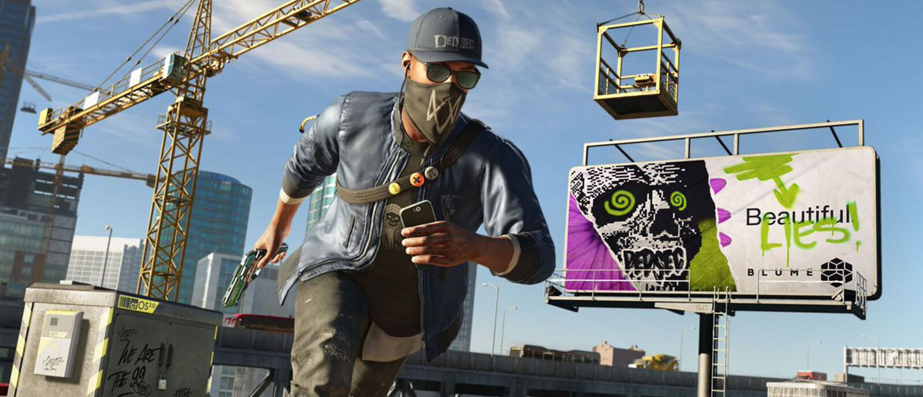 Изображение к Первый геймплей Watch Dogs 2