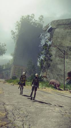 Platinum Games - Platinum Games опубликовали новые скриншоты NieR: Automata - screenshot 17