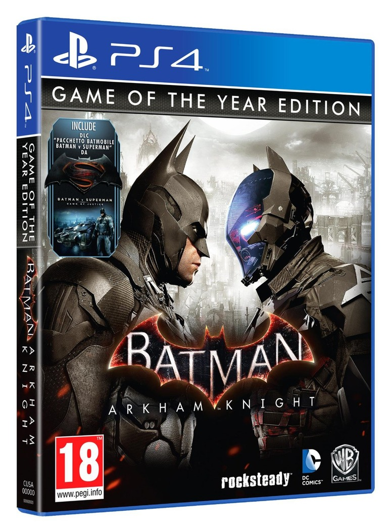 Batman: Arkham Knight - Слух: Batman: Arkham Knight GOTY Edition выйдет на следующей неделе - screenshot 1