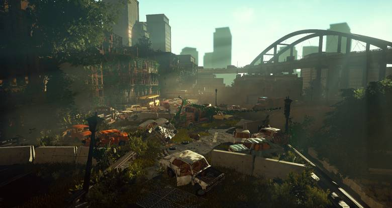 Unreal Engine 4 - Шоссе из The Last Of Us воссозданное на Unreal Engine 4 - screenshot 3