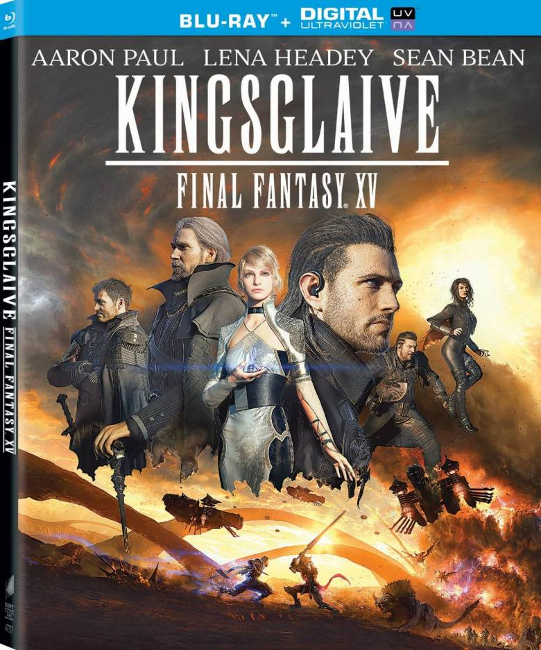 Final Fantasy XV - Бокс-арты Blu-ray копий Kingsglaive: Final Fantasy XV - screenshot 1