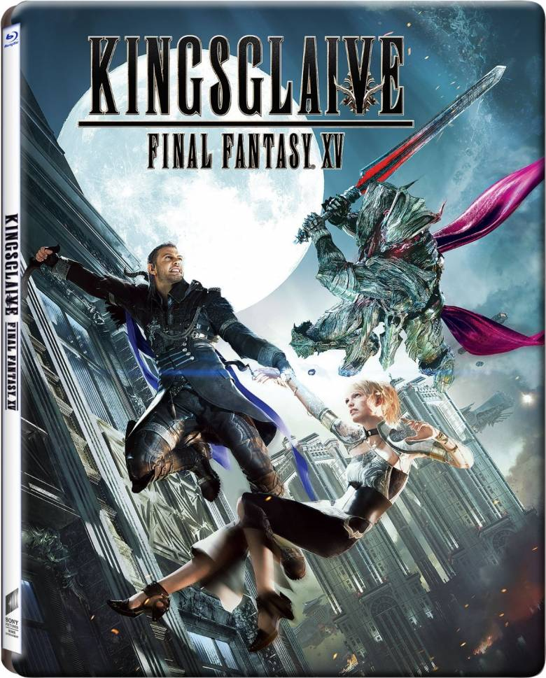 Final Fantasy XV - Бокс-арты Blu-ray копий Kingsglaive: Final Fantasy XV - screenshot 2