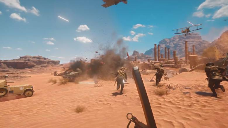 Battlefield 1 - Новую карту из Battlefiled 1 покажут на Gamescom - screenshot 1