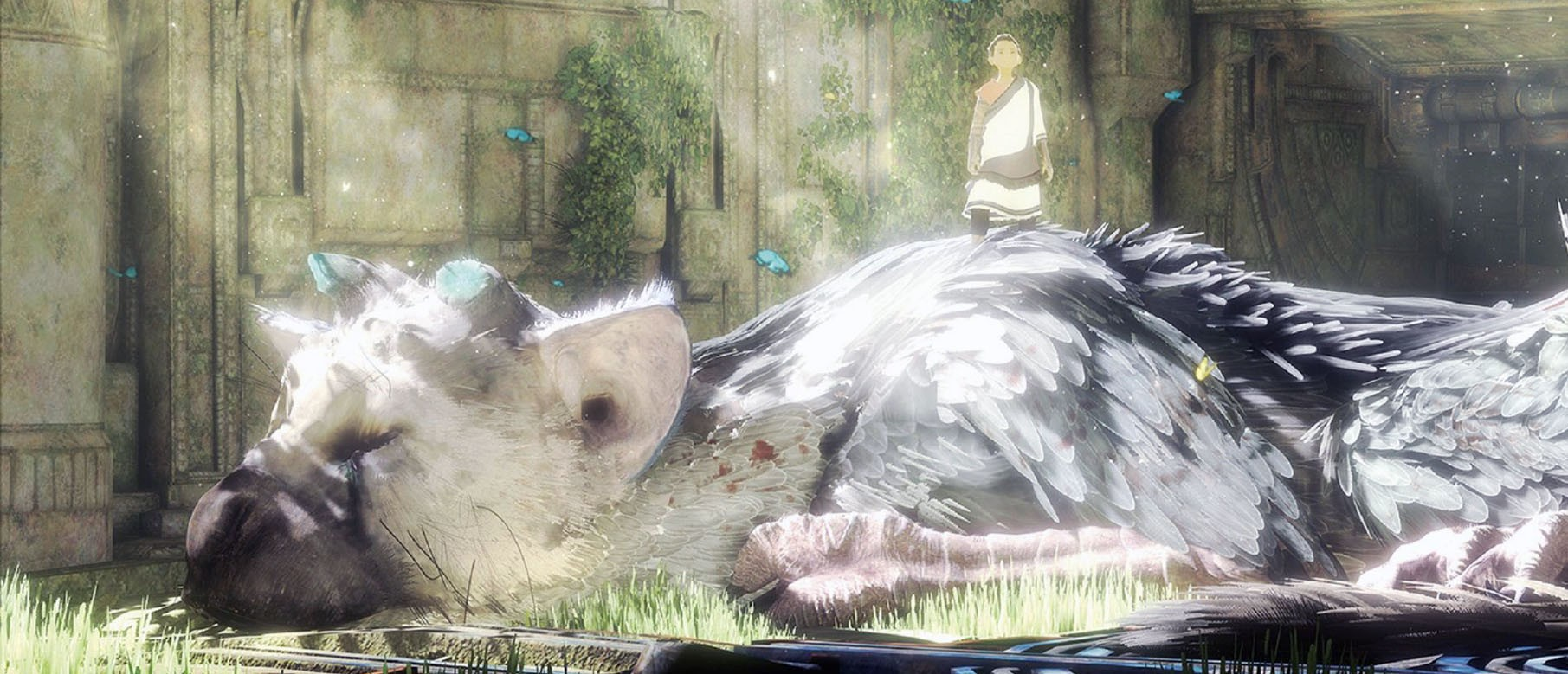 Изображение к Новый трейлер The Last Guardian с Gamestop Expo 2016