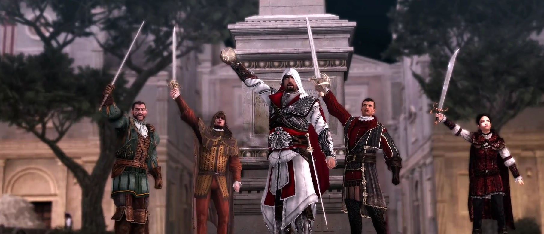 Официальный анонс Assassin's Creed: The Ezio Collection
