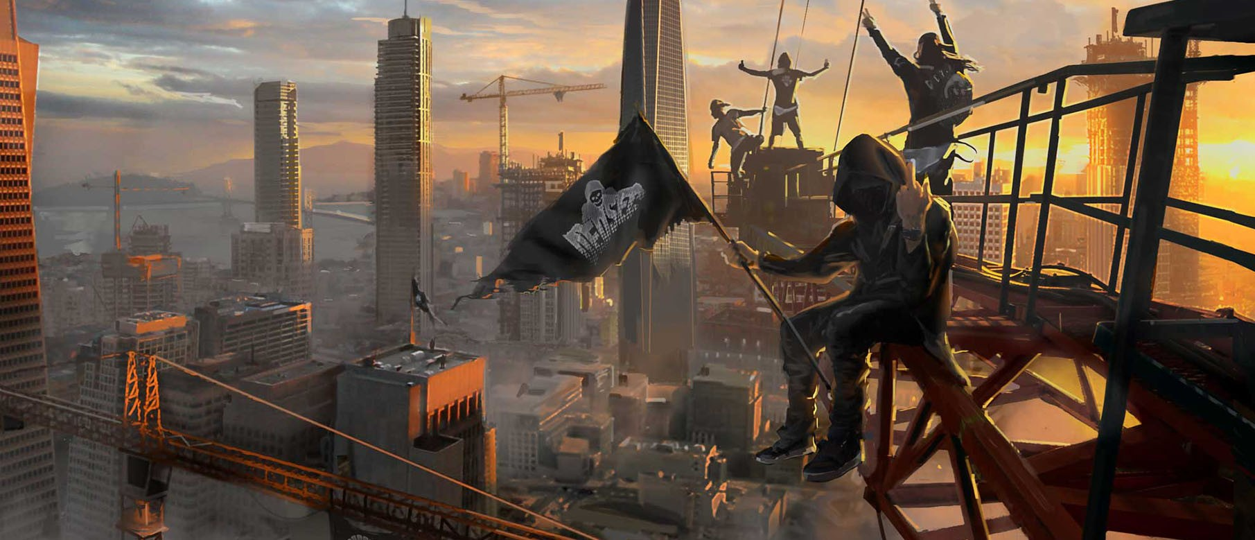Изображение к Сюжетный трейлер Watch Dogs 2