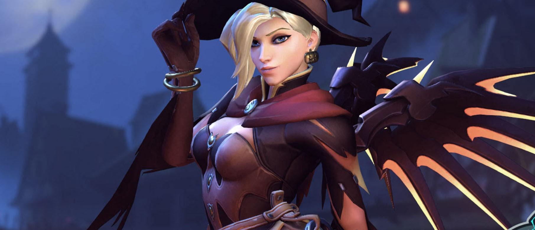 Первый взгляд на хэллоуинские облики героев и контейнеры Overwatch — Rampaga