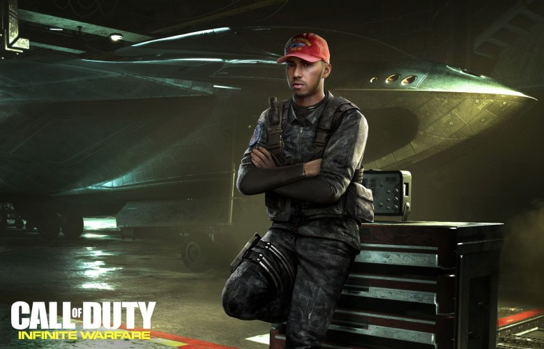 Call of Duty: Infinite Warfare - Льюис Хэмилтон появится в Call of Duty: Infinite Warfare - screenshot 1