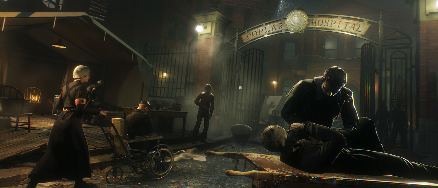 Изображение к Сюжетный трейлер Vampyr: Darkness Within