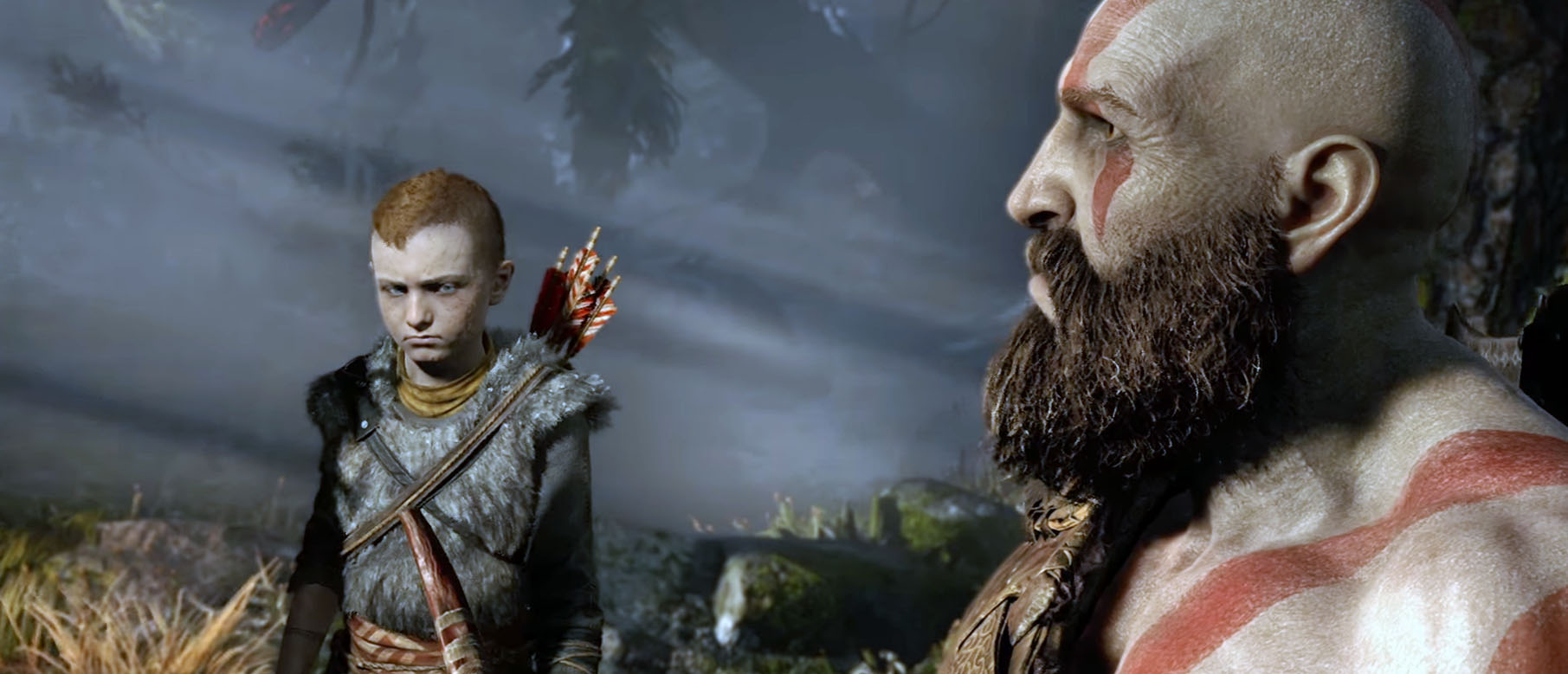 Изображение к Геймдиректор подтвердил имя сына Кратоса в God Of War