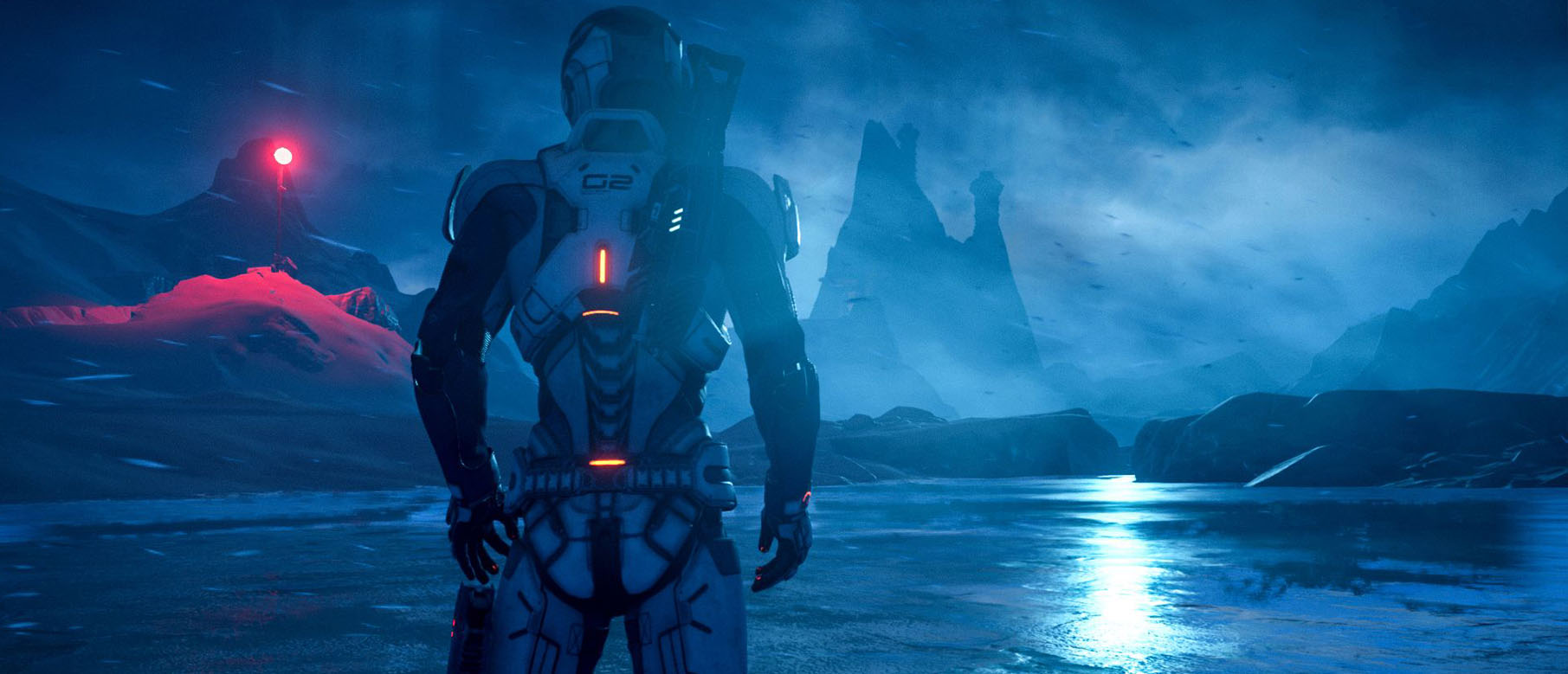 Изображение к Новый кинематографический трейлер Mass Effect: Andromeda уже завтра