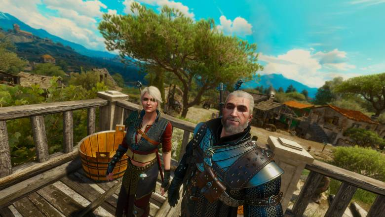 The Witcher 3: Wild Hunt - Теперь вы можете делать селфи в The Witcher 3: Wild Hunt, если очень хочется - screenshot 2