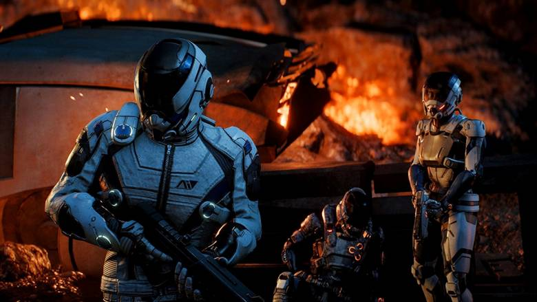 Mass Effect: Andromeda - Несколько новых скриншотов Mass Effect: Andromeda - screenshot 2