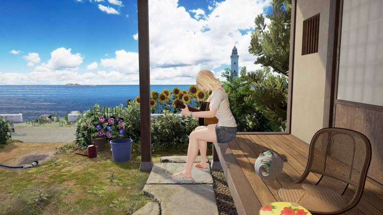 Bandai Namco Games - Первый трейлер PS VR эксклюзива Summer Lesson: Allison Snow Seven Days Garden - screenshot 2